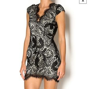 Luxxel Great Expectations Lace Dress